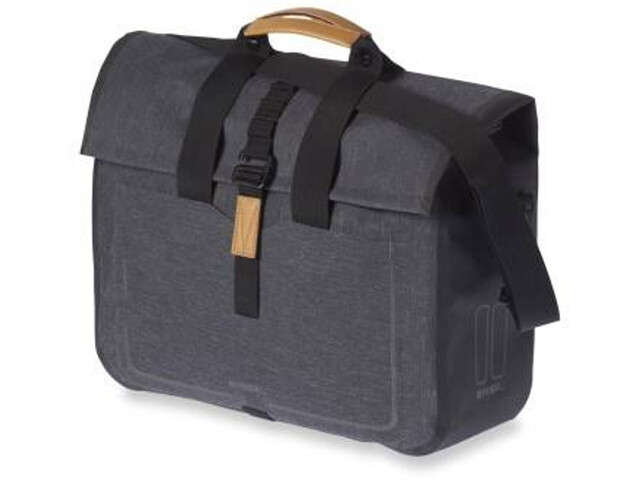 Basil Urban Dry Business - Sac porte-bagages - 20l gris